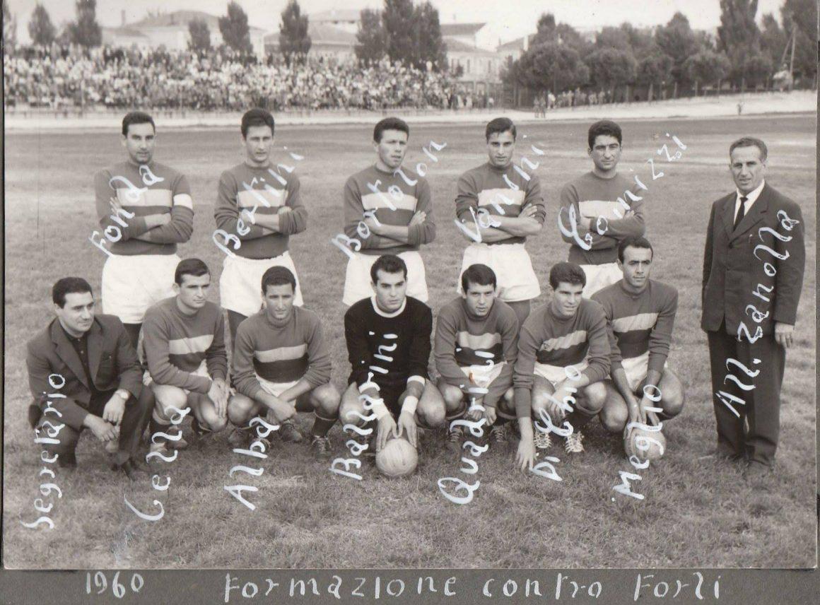 ANNO 1960, SERIE C, GIRONE B