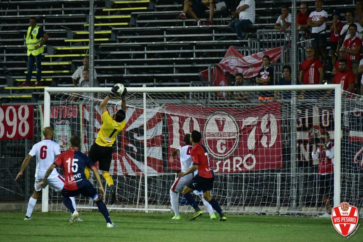 COPPA ITALIA SERIE C, GUBBIO-VIS PESARO: 2-1.