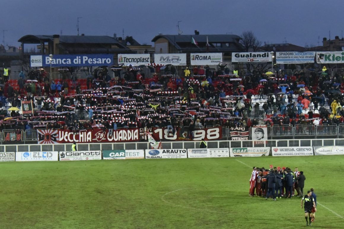 """VIS PESARO-FERMANA: 3-0! DAI TIFOSI UN GRIDO """"NON SVEGLIATECI""""!"""