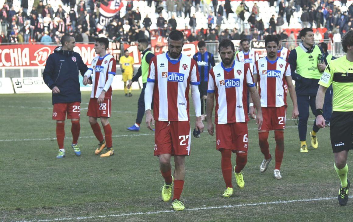 VIS PESARO-RENATE: 0-1.