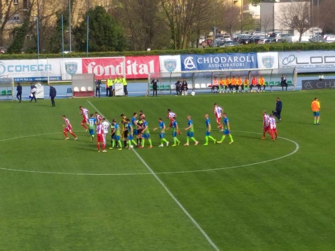 FERALPISALO'-VIS PESARO:1-0.