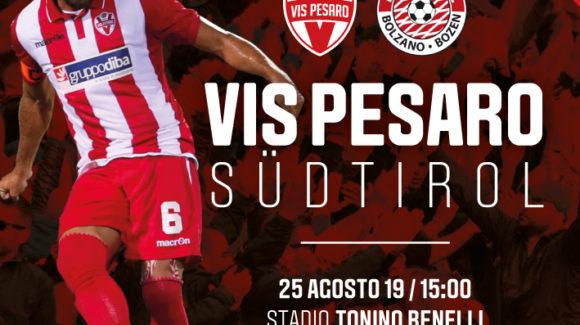 Biglietti per VIS PESARO-SUDTIROL