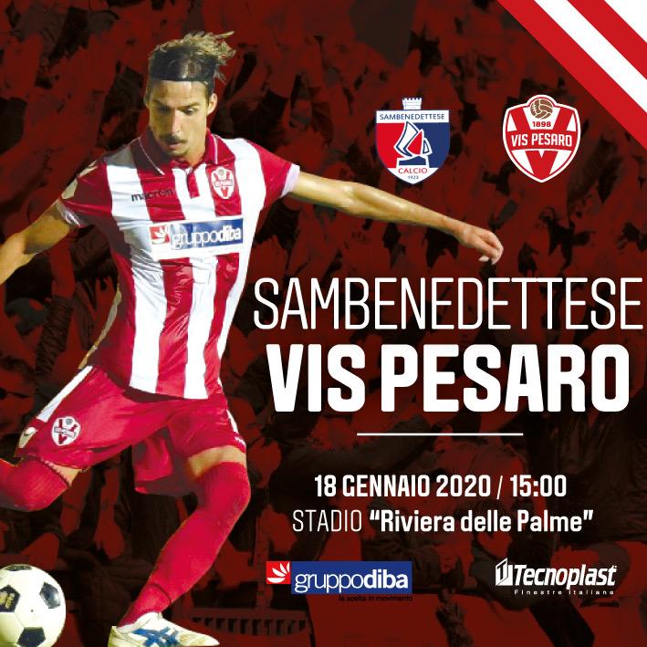 Prevendita biglietti Sambenedettese - Vis Pesaro